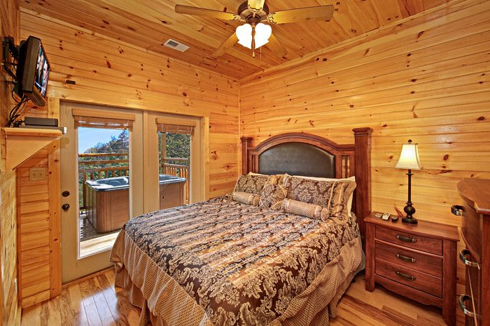Cabin with King Sized Bed - 1 In A Million