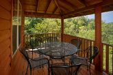 Private Cabin with Covered Deck and Wooded Views