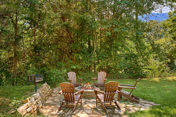 Secluded Cabin with a Fire Pit and View - 2 Tranquil 4 Words