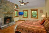 King Suite with Fireplace and Flat Screen TV