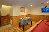 3 Bedroom Cabin with Game Room and Foosball Game