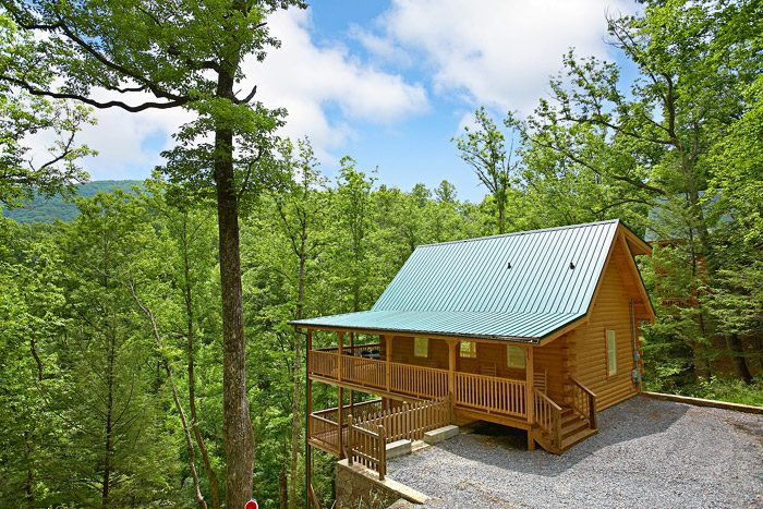 A Bear Abode Cabin Rental Photo