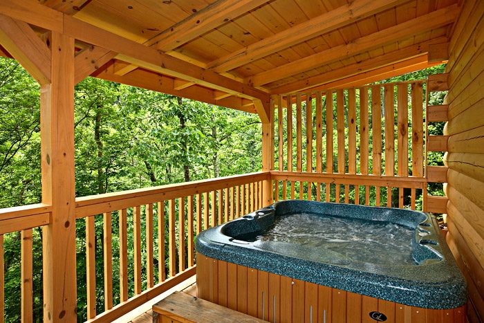 Gatlinburg Cabin with Private Hot Tub - A Bear Abode