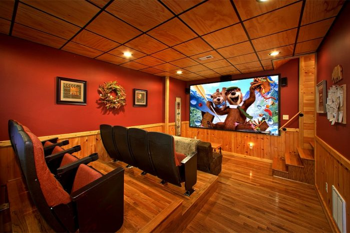 Theater Cabin Gatlinburg | Sky Harbor Resort Cabin