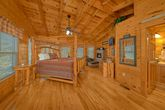 King Sized Master Suite in Cabin