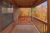 Swing on Deck 2 Bedroom Cabin Sleeps 6