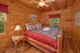 2 bedroom cabin with king suite and jacuzzi tub