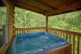 Cabin with Wooded View and Hot Tub