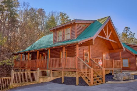 A Daze End: 4 Bedroom Sevierville Cabin Rental