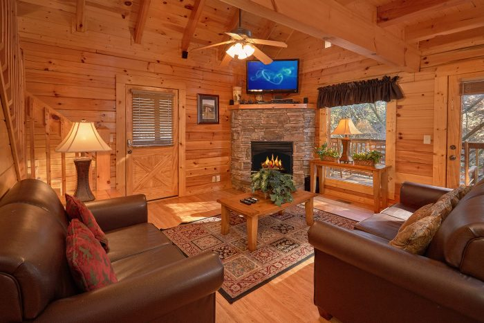 4 Bedroom Cabin Sleep 12 in Blackberry Ridge - A Bears Lair
