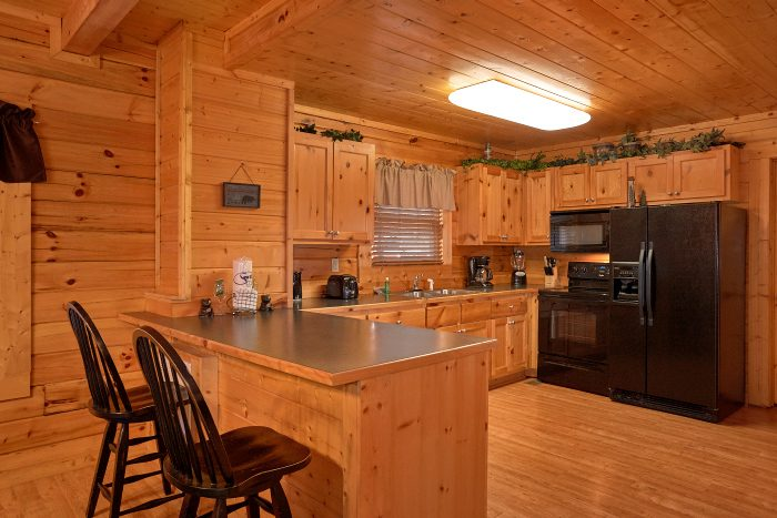 4 Bedroom Cabin Sleeps 12 with Open Floor Plan - A Bears Lair