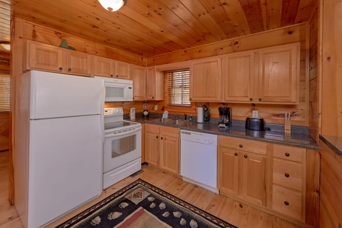 Cabin with Fully Equipped Kitchen - A Beary Special Place