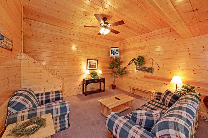 Cabin with Secondary Living Area - A Daze End
