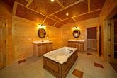 Master Suite Bathroom in Cabin