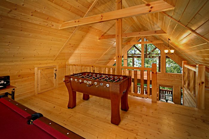 Game Room in Cabin - A Friendly Forest