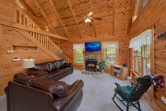 Cozy 1 Bedroom Cabin with Fireplace - A Gift From Heaven