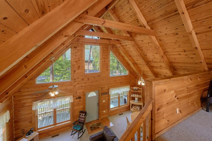 Honeymoon Cabin with Loft and Game Room - A Gift From Heaven