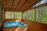 Honeymoon Cabin with Hot Tub and Screened Porch