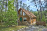 Wears Valley Cabin with wooded View and hot tub