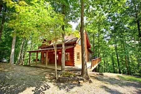 Caliente Cabin: 2 Bedroom Gatlinburg Cabin Rental