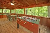 Cabin with Foose Ball Table