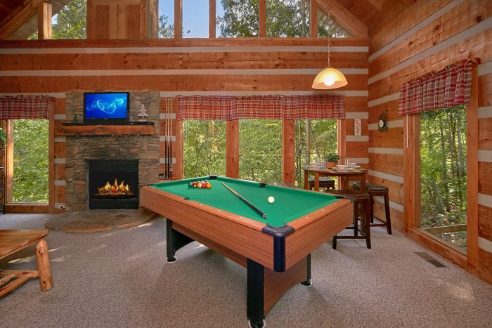 ... 2 Bedroom Cabin With Pool Table And Fire Pit   A Hummingbird Hideaway  ...
