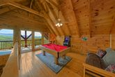 Cabin with Pool Table and Theater Room