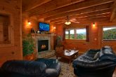Pigeon Forge 2 bedroom cabin with fireplace