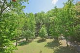 Private 1 bedroom cabin with wooded view