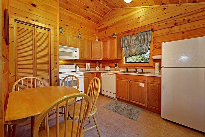 Fully Furnished Kitchen - A Mountain Escape