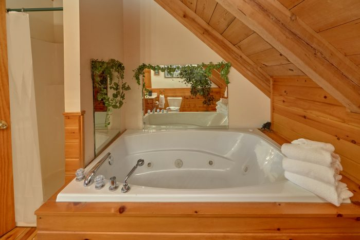 2 Jacuzzi Tubs - A Mountain Haven