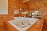 Whirlpool Tub in Loft Bath