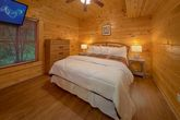 Bedroom with Wooded View