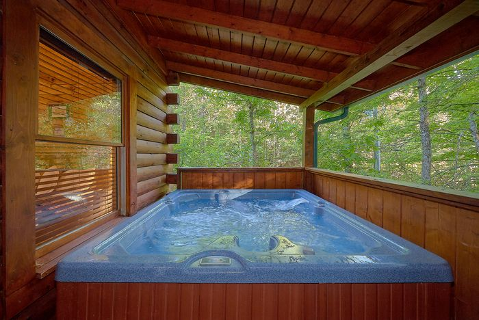 bedroom cabin rental pigeon forge tn with pool access