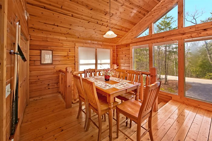 Premium Cabin that Features a Game Table - A Mountain Paradise