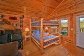 Cabin with Queen Bunk Beds