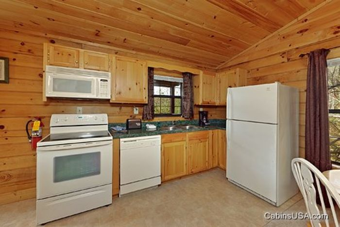 Fully Equipped Kitchen - A Mountain Retreat