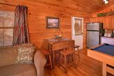 1 Bedroom Cabin with Dining Seating