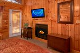 Luxury Cabin with Fireplace in the Master Suite