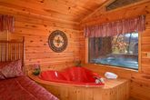Smoky Mountain Cabin with Heart Shaped Jacuzzi