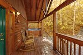 Private 1 Bedroom Smoky Mountain Cabin