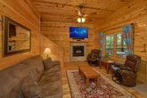 Luxury Cabin with TV and Surround sound