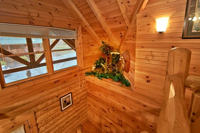 2 Bedroom Cabin Complete with Decor - A Rocky Top Memory