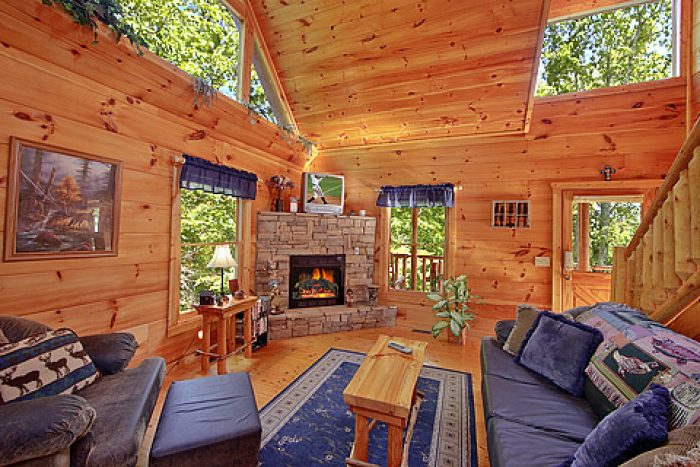 Secluded Honeymoon Cabin In The Smokies