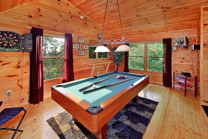 Pool Table - A Romantic Getaway