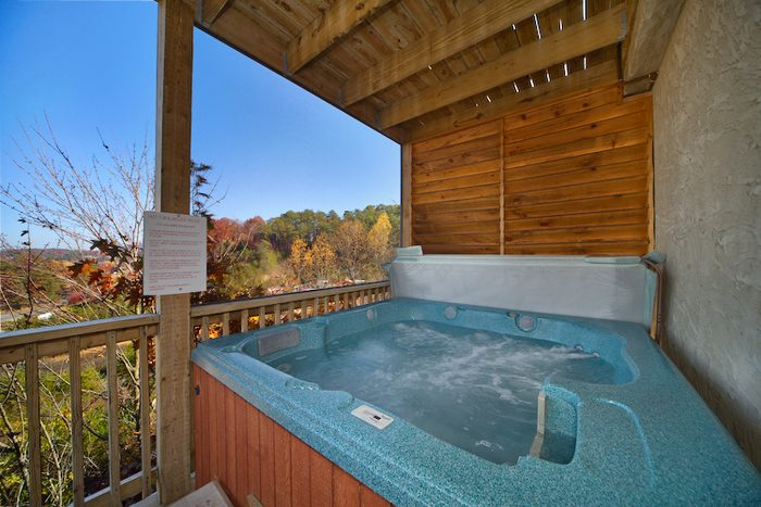 Premium 1 Bedroom Cabin with Private Hot Tub - A Romantic Journey