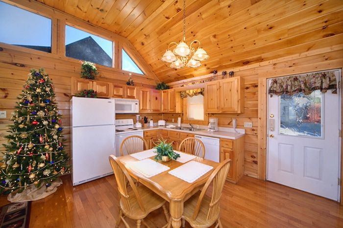 Fully Equipped Kitchen with Dining Table - A Romantic Journey