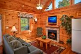 Premium 1 Bedroom Cabin with Living Room