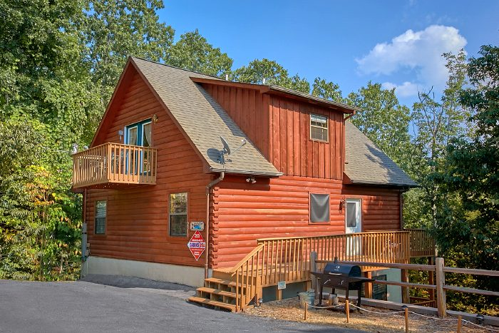 pigeon forge cabin rental with great view near dollywood