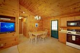 Rustic 1 Bedroom Cabin with Furnished Kitchen